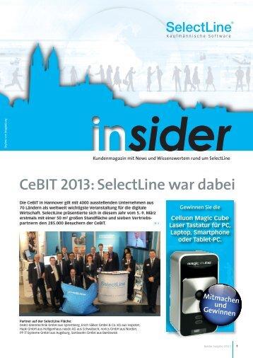 Insider - SelectLine
