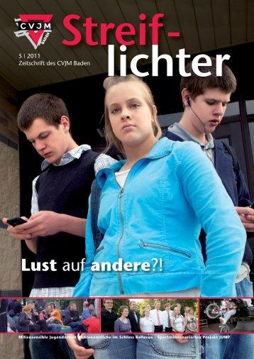 Streiflichter 5-2011 - CVJM Baden