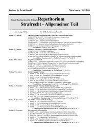 Strafrecht - Allgemeiner Teil - Heinrich