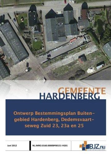 Toelichting - Gemeente Hardenberg