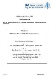 D 1 Lösungsbogen 7 B VBSM 01.09.11