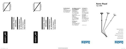 6504830_2007 - Auping Service Manual