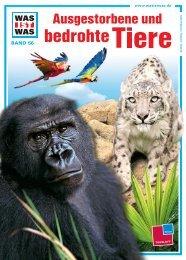 Leseprobe zum Titel: Ausgestorbene und bedrohte Tiere - Die Onleihe