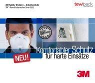3M Atemschutzmasken Serie 8300 - tewipack Uhl GmbH