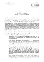 Sachzuwendungen - Steuerberater H.-P. Buschmann