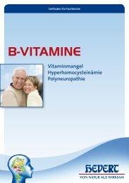 Leitfaden B-Vitamine - Hevert