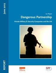 Dangerous Partnership - Global Policy Forum