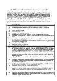 Checkliste für Antragsunterlagen im ... - Landratsamt Roth