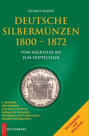 Deutsche Silbermünzen 1800-1872 - Gietl Verlag