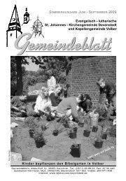 09_3 Gemeindeblatt Juni - September 09 - Ev.-luth ...