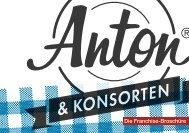 Franchise-Prospekt - Anton und Konsorten