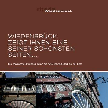 Broschüre - Einkaufen in Rheda Wiedenbrück