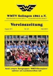 WMTV Vereinszeitung 127 - WMTV - Solingen