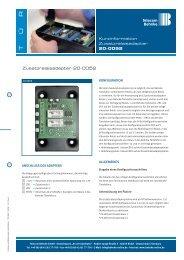 Kurzinformation Zusatzrelaisadapter 20-0052 ... - Telecom Behnke