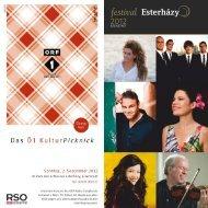 festival Esterházy - Wien