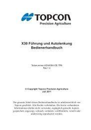 AGA4084-GE-TPA X30 Guidance and Auto Steering Operators ...