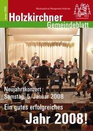 Januar 2008 - Holzkirchen