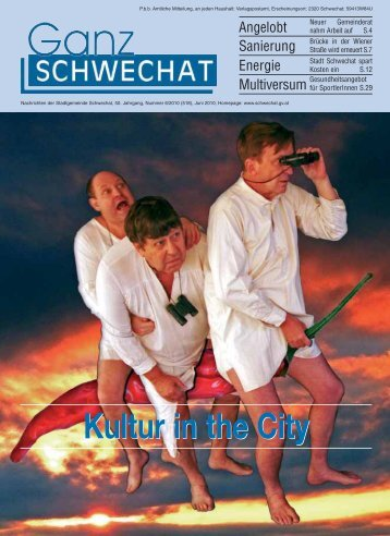 0610 Juni Ausgabe - Stadtgemeinde Schwechat