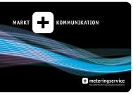 MARKT KOMMUNIKATION - MeteringService