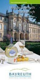 Gastronomieführer - Stadt Bayreuth