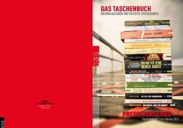DAS TASCHENBUCH PRESSEVORSCHAU - Fuxx