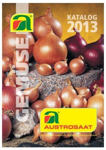 Katalog Gemüse Garten- und Feldgemüsebau 2013 - Agrosaat