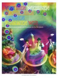 found @ www.zauberpilz.com © by Das Magazin (TA Media) - PDF ...