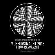 Katalog PDF - Museumsnacht Hegau-Schaffhausen