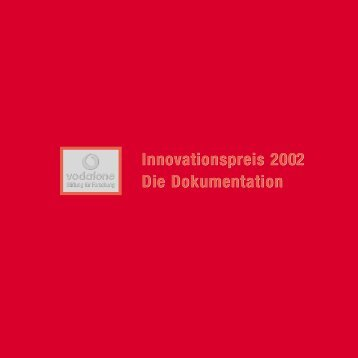 Download Dokumentation 2002 als PDF-Format - Vodafone Stiftung ...