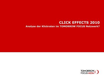 CLICK EFFECTS 2010 - Tomorrow Focus Media