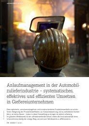 Anlaufmanagement in der Automobil- zulieferindustrie ...