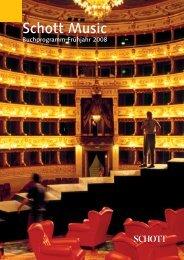 Ausgabe herunterladen (PDF, 4.3 MB) - Schott Music