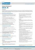 Fakten zum GEA-R - CSG Systems - Seite 2