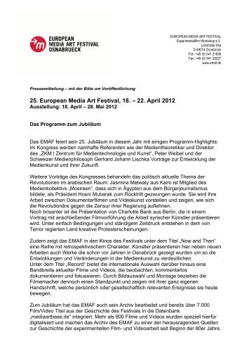 Download Pressemitteilung 02-2012 als PDF - EMAF