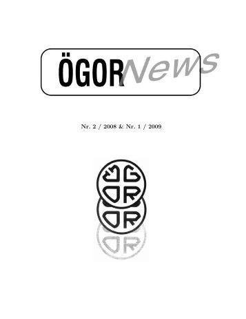 Nr. 2 / 2008 & Nr. 1 / 2009 - Österreichische Gesellschaft für ...