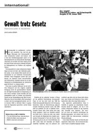 Gewalt trotz Gesetz - Hirschfeld-Eddy-Stiftung
