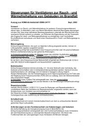 Steuerungen für Ventilatoren zur Rauch - und ... - Systemair