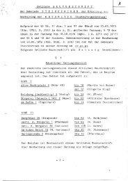 Gestaltungssatzung Steinkirchen - Elbberg