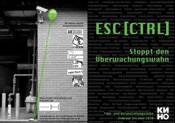 Esc[Ctrl] - Stoppt den Überwachungswahn - Kino im Sprengel