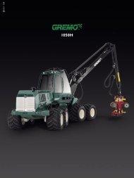 Gremo Harvester 1050H - Lectura SPECS
