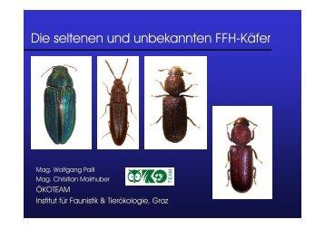 Die seltenen und unbekannten FFH-Käfer