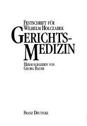 Elektronenoptische Untersuchungen zur Totenstarre. - Institut für ...