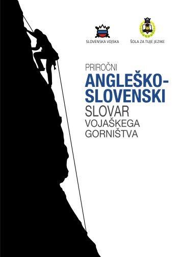 ANGLEŠKO- SLOVENSKI - Slovenska vojska