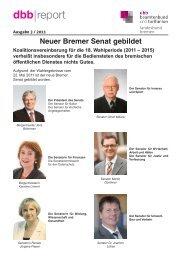 Ausgabe 3/2011 - [DBB] - Landesbund Bremen