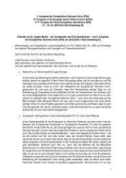 Festrede* von Dr. Angela Merkel - Europäische Senioren Union
