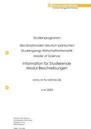 StudInfo BSG - Internationale DAAD-Akademie (IDA)