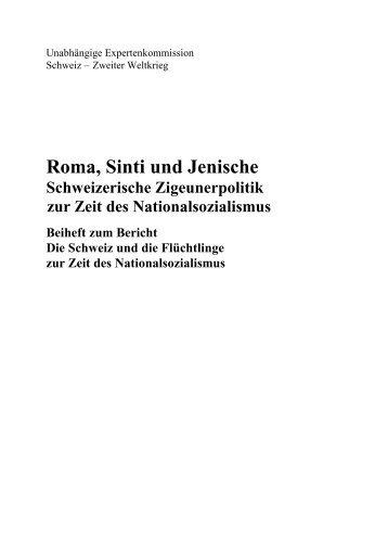 Roma, Sinti und Jenische. Schweizerische Zigeunerpolitik zur Zeit