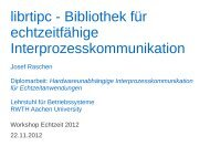 librtipc - Bibliothek für echtzeitfähige ... - real-time
