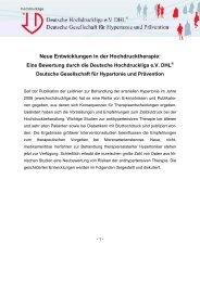 Update 2011 - Deutsche Hochdruckliga