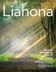 August 2013 Liahona - Kirche Jesu Christi der Heiligen der Letzten ...